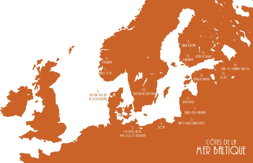 Côtes de la mer Baltique
